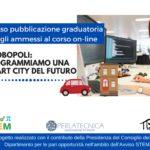 """Graduatoria degli ammessi al corso gratuito online """"Programma una città del futuro"""""""